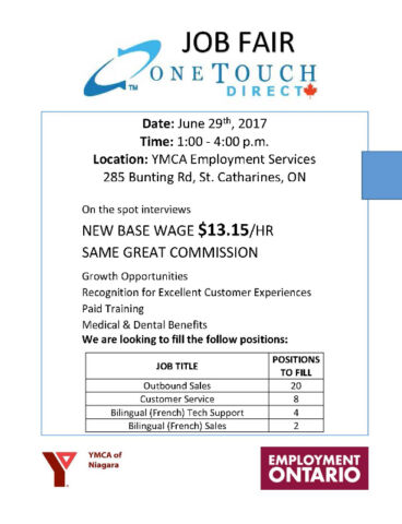 One Touch Direct - Job Fair