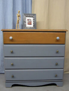 Vintage dresser restyled for a shabby chic look