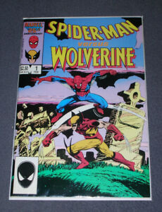 Spider-Man Vs. Wolverine (1987) - VF/NM