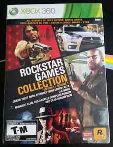 Xbox360 - Rockstar Games Collection volume 1 (sealed)
