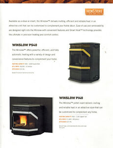 Special Offer - Winslow PS40 Pellet Stove