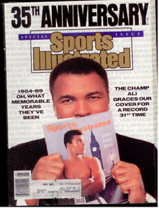 SPORTS ILLUSTRATED 35th Anniversary Issue 1989 Ali on cover