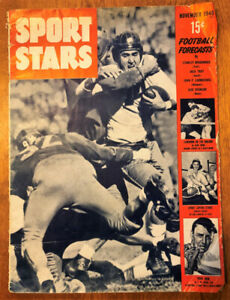1946 Sports Stars Magazine. 73 Years Old & in Good Condition