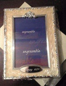 60th Anniversary Picture Frame
