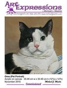 Memorial Pet Portraits