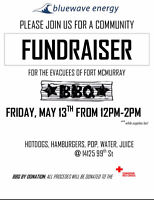 Fundraising BBQ for Fort McMurray