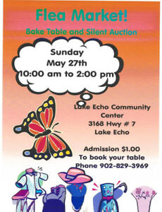 Community Yard Sale/Flea Market & Silent Auction