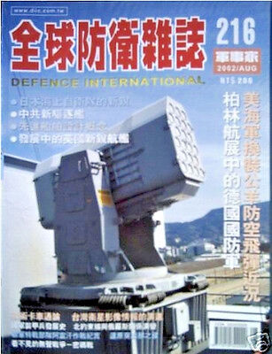 Defense Technology Magazine, from Taiwan, Great Military Photos August 2002