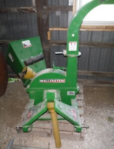 Wallenstein BX42 wood chipper, used very little