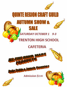 CRAFT SALE..TRENTON HIGH SCHOOL CAFETERIA