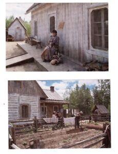 2 cartes postales Village d'Émilie à Grand-Mère .