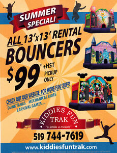 Bouncy Castle Rental Cambridge Kitchener Area image 1