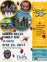 NORTH DELTA FAMILY DAY PARAE & EVENT