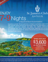 All Inclusive Vacation St.James's Club Antigua