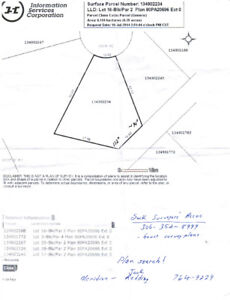 TITLED LAKE LOT IN NORTHERN SASKATCHEWAN
