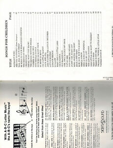MUSIC BOOKS -Christmas Carols, Sesame Street, Songs for Children Kitchener / Waterloo Kitchener Area image 4