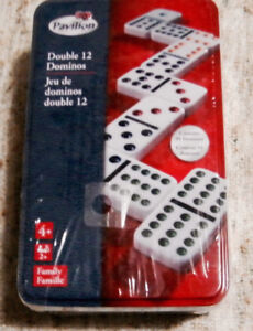 DOUBLE 12 *DOMINOS*_REDUCED PRICE_BRAND NEW COMPACT FAMILY FUN!