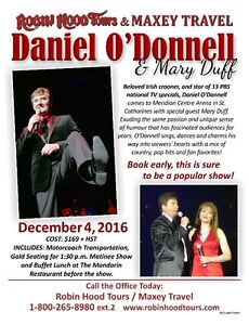 DANIEL O'DONNELL & MARY DUFF Stratford Kitchener Area image 1
