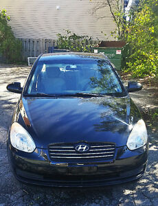 2008 Hyundai Accent Sedan, Super Fuel Saver in Great Condition!!