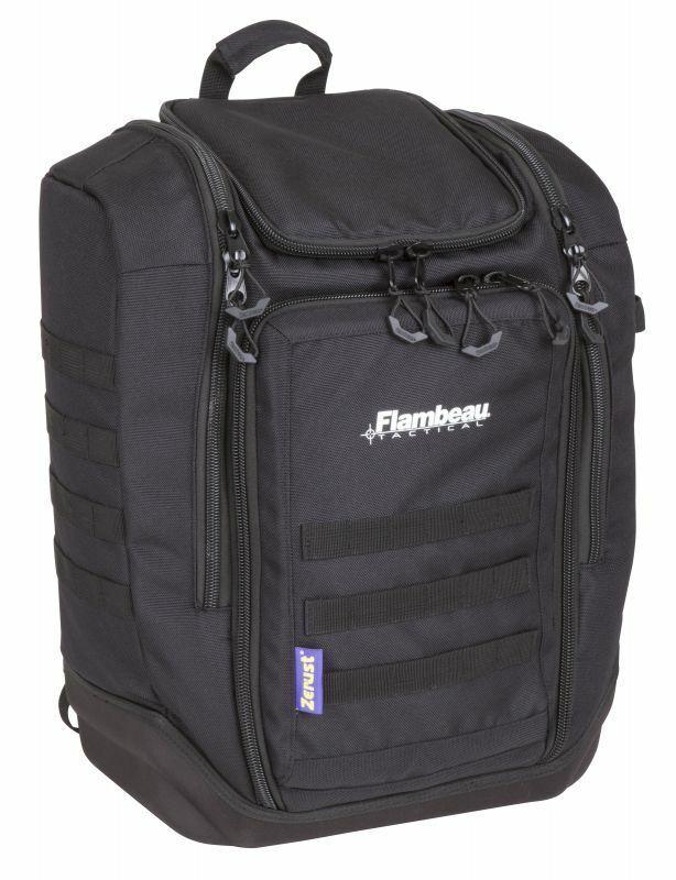 Flambeau Cargo Range Fishing Backpack Tackle Bag Zerust + Co