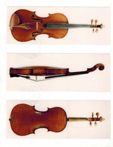 █ ►►Fine Antique Certified Violin 1790