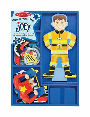 Melissa & Doug Joey Joey Magnetic Dress-Up Set Wood Assorted 28 pc