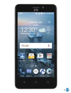 "BrandNew 5""ZTE Smart Latest Android 6.0.1 Phone Unlocked"