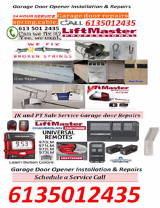 Professional garage door repairs and installations! 24HR service