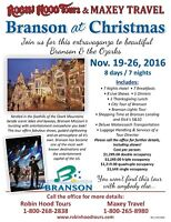 Branson Missouri and the Ozarks at Christmas
