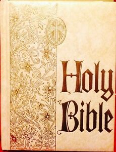 Holy Bible (Large) Vintage Heirloom Geneology Edition