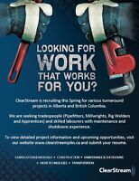 Skilled Trades & Labourers Wanted - Turnarounds