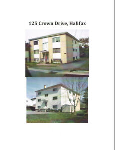 2 Bedroom Renovated Apartment, Central Halifax 125 Crown Drive
