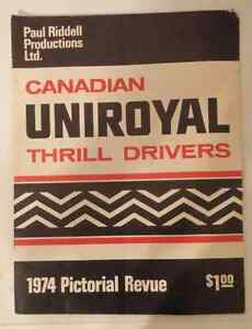 Uniroyal Thrill Drivers Pamphlet