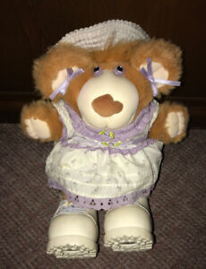 Vintage 1985 Furskins Plush Teddy Bear 14 Inches Xavier Roberts