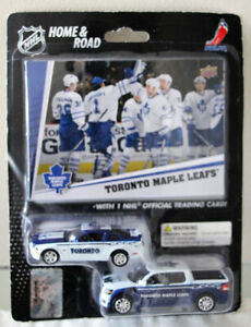NEW UNOPENED UD TORONTO MAPLE LEAFS VEHICLES AND COLLECTORS CARD