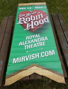 The Heart Of Robin Hood - large outdoor vinyl banner