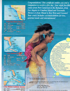 Cruise for 2 Promotion- Carnival-Carribean