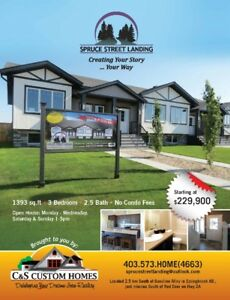 VOTED ONE OF THE BEST IN CENTRAL ALBERTA - SHOWHOME OPEN 1-5