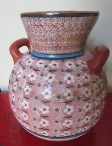 Vase/ Cruche Poterie Mexicaine I.Jarero Mexican Pottery Vase Jug