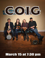 COIG - East Coast Celtic on Fire! @ Key City Theatre