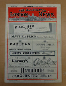 """Vintage 1948 """"The Illustrated London News"""" Issue"""