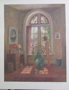 Strikinig Limited Edition Lithograph Print by Frank Panabaker!