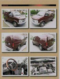 2005 Chevrolet Astro Fourgonnette, fourgon