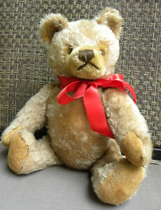 ANTIQUE STEIFF TEDDY BEAR WITH BUTTON IN EAR West Island Greater Montréal image 1