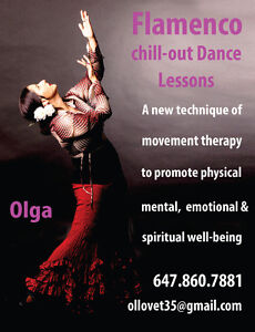 Professional Dancer Chill Out music performance