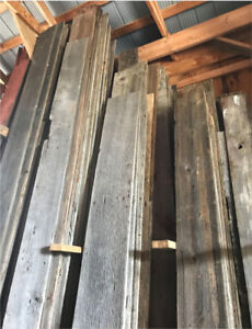 Reclaimed Barn Board - Red - Grey - White