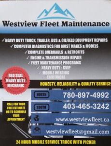 MOBILE HEAVY DUTY MECHANIC AVAILABLE 24/7
