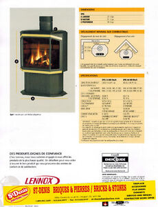 Special Offer - EPIC 33/40 Gas Stove Cornwall Ontario image 2