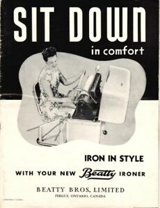 "Beatty ""Roller"" Iron from the 50/60's"
