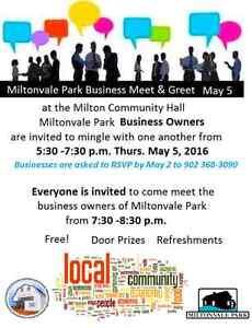 Miltonvale Park Business Mixer